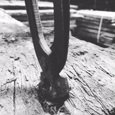 Wagondelen & wijnpersplanken schoon maken