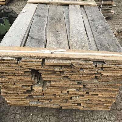 Barnwood oak boards