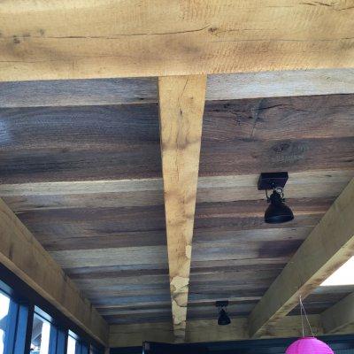 Old oak ceiling