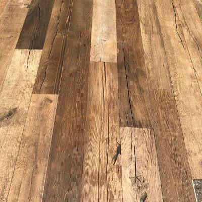Old oak floors