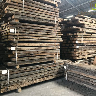 Big stock reclaimed european oak