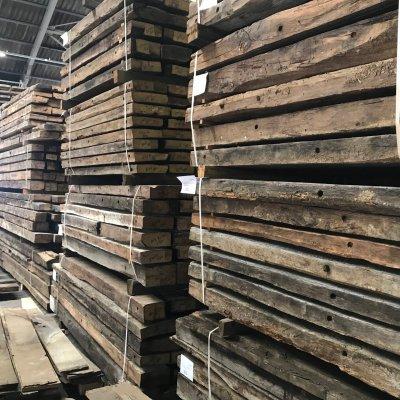Verkoop van oud hout