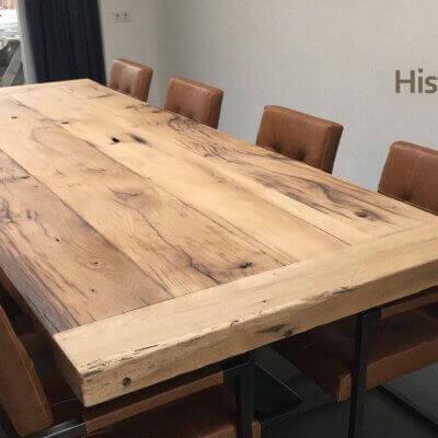 Zelf uw tafel maken? kom planken uitzoeken!