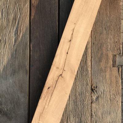 geborstelde oud eiken planken