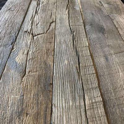 Brushed oak planks