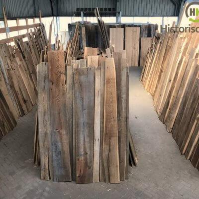 oude eiken planken en barnwood