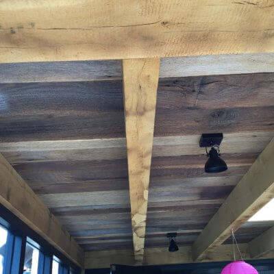 plafonds oud eiken