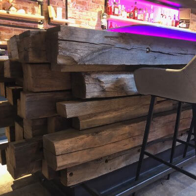 Reclaimed oak beams for sale