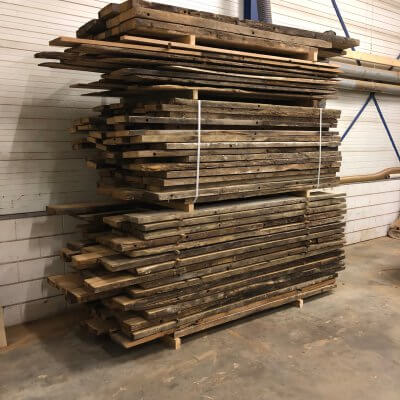 Pakketverkoop oud eiken planken