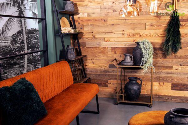Barnwood wandbekleding voor uw interieur