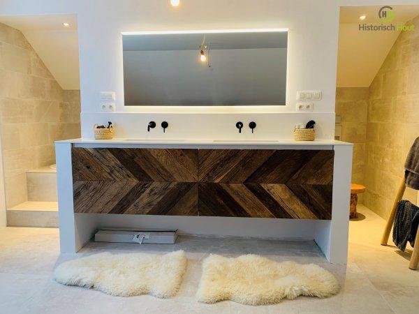 Tv meubel oud eiken