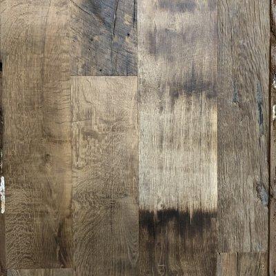 Old european oak flooring