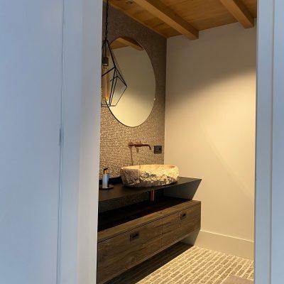 barnwood grijstint badkamermeubel