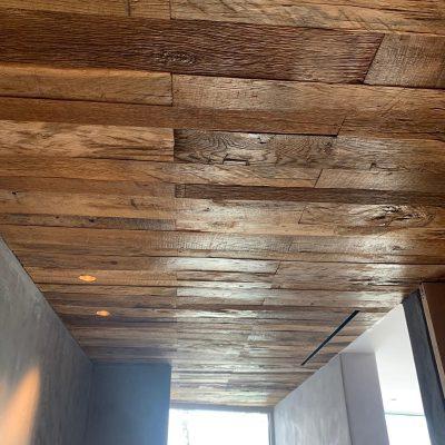 plafond bekleding baanwood in a box
