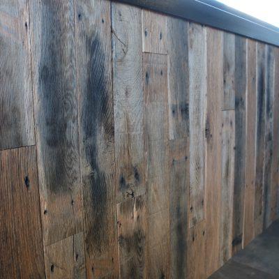 wandbekleding barnwood