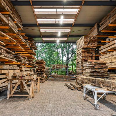 voorraad historisch hout