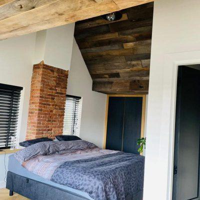 plafond barnwood bekleding
